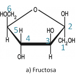a)Fructosa